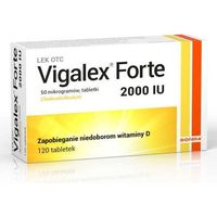 Witaminy i minerały, Vigalex forte 2000 x 120 tabletek