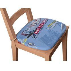 Dekoria Siedzisko Bartek na krzesło, samochody na niebieskim tle, 40x37x2,5cm, Freestyle do -30%