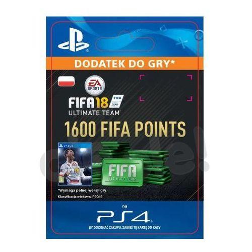 Kody i karty przedpłacone, FIFA 18 1600 Punktów [kod aktywacyjny]