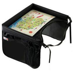 TULOKO Bezpieczny stolik podróżny czarny