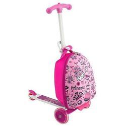 Hulajnoga z walizką NILS EXTREME /różowa/