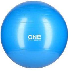 Piłka gimnastyczna ONE FITNESS 10 Niebieski
