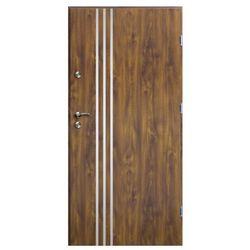 Drzwi zewnętrzne O.K.Doors Arte III Line 90 prawe złoty dąb