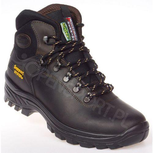 Męskie obuwie sportowe, MĘSKIE BUTY TREKKINGOWE GRISPORT LONTRA DAKAR BRĄZOWY 41