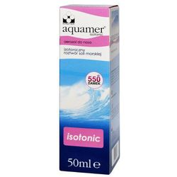 Aquamer Isotonic aerozol do nosa 50ml