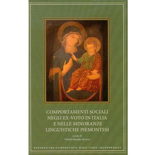 Filozofia, Comportamenti sociali negli ex-voto in Italia e nelle minoranze linguistiche piemontesi (opr. miękka)