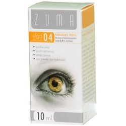 Zuma ulga krople do oczu 0,4% z hialuronianem sodu 10 ml