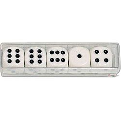 Kości do gry duże - oczkowe 22 x 22 mm - Piatnik Kości do gry duże - oczkowe 22 x 22 mm - Piatnik