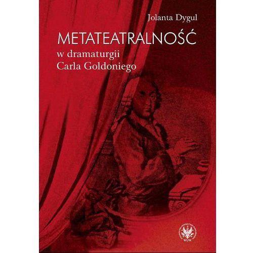 E-booki, Metateatralność w dramaturgii Carla Goldoniego
