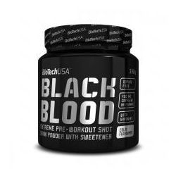 BIOTECH USA BLACK BLOOD 330G PRZEDTRENINGÓWKA