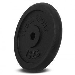Obciążenie Żeliwne Tytan Sport 15 kg