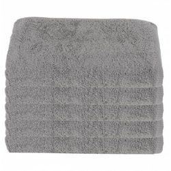 Ręcznik Hotelowy Jasnoszary 50x100 cm 100% bawełna 500 gr/m2 Steel