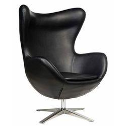 Fotel Jajo Soft skóra ekologiczna 527 czarny