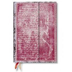 Kalendarz książkowy midi 2018 12M hor.Jane Austen