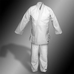 kimono do judo TONBO - STANDARD, białe, 580g/m2