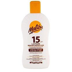 Malibu Lotion SPF15 preparat do opalania ciała 400 ml unisex