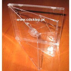 Pudełko plastikowe na 2CD przezroczysty tray