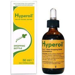 Olejek HyperOil do wszystkich rodzajów ran, owrzodzeń, odleżyn - krople 50 ml