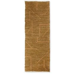 Hkliving ręcznie tkany bawełniany chodnik, musztardowo/miodowy (70x200) ttk3066