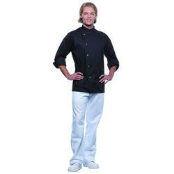 Bluza kucharska męska, rozmiar 48, czarna | KARLOWSKY, Lars
