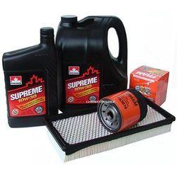Filtr oleju powietrza oraz olej silnikowy SUPREME 10W30 Dodge Caravan