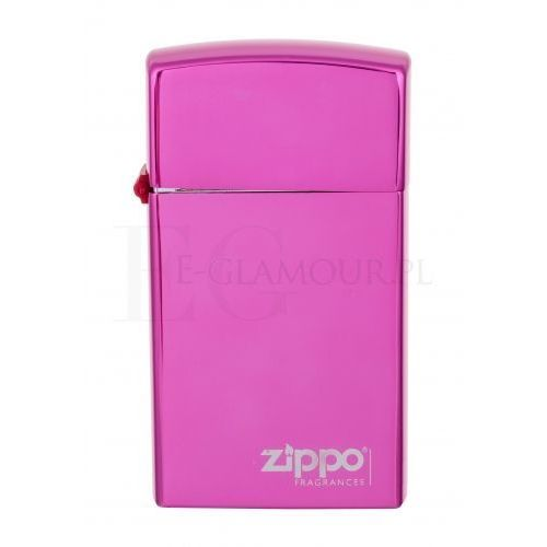 Wody toaletowe męskie, Zippo Fragrances The Original Pink Men 50ml EdT
