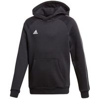 Odzież do sportów drużynowych, Bluza dla dzieci adidas Core 18 Hoody JUNIOR czarna CE9069