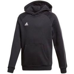 Bluza dla dzieci adidas Core 18 Hoody JUNIOR czarna CE9069
