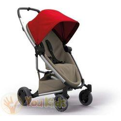 Od YouKids ZAPP FLEX PLUS 2w1 Quinny gondola LUX wózek głęboko-spacerowy red on sand + sand on graphite