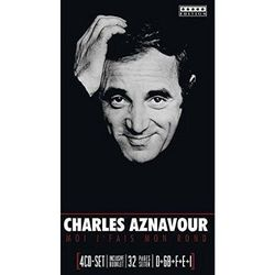 CHARLES AZNAVOUR - Moi J'fais Mon Rond (4CD)