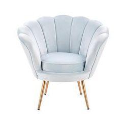 fotel jasnoniebieski Amorino