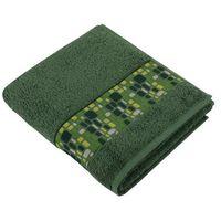 Ręczniki, Bellatex Ręcznik kąpielowy Kamienie zielony, 70 x 140 cm, 70 x 140 cm