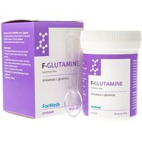 Aminokwasy, F-Glutamine L-glutamina 700mg 90 porcji 63g ForMeds