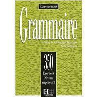 Książki do nauki języka, Grammaire 350 exercices, Superieur I, podręcznik (poziom zaawansowany I) (opr. miękka)