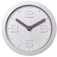 Zegary, Zegar ścienny SCANDI śr. 15.5 cm biały