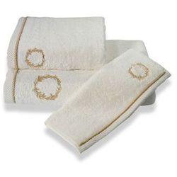 Podarunkowy zestaw ręczników SEHZADE Śmietankowy / złoty haft