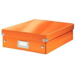 Pudło Leitz Wow C&S z przegródkami średnie pomarańczowe 60580044