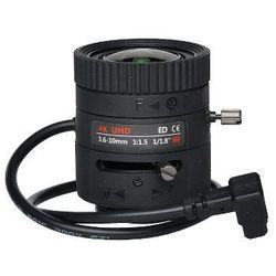 OBIEKTYW ZOOM IR MEGA-PIXEL 80CS18-3610/DC 4K UHD 3.6... 10 mm DC LENEX
