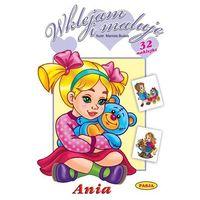 Książki dla dzieci, Wklejam i maluję - ania (opr. miękka)
