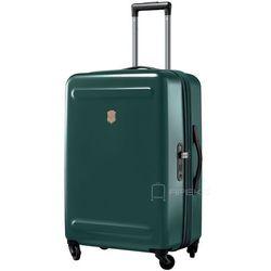 Victorinox Etherius średnia poszerzana walizka 67 cm / ciemnozielona - Evergreen