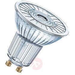 Żarówka LED OSRAM 4052899390171, GU10, 4.6 W = 50 W, 350 lm, 2700 K, ciepła biel, 230 V, 25000 h, 1 szt.