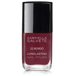 Gabriella Salvete Longlasting Enamel lakier do paznokci 11 ml dla kobiet 22 Bordó