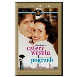 Cztery wesela i pogrzeb (DVD) - Mike Newell DARMOWA DOSTAWA KIOSK RUCHU