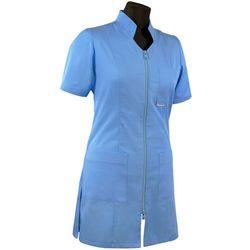 Tunika / fartuch damski medyczny z dekoltem w szpic 311