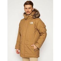 The North Face Parka Recycled Mcmurdo NF0A4M8G1731 Brązowy Regular Fit