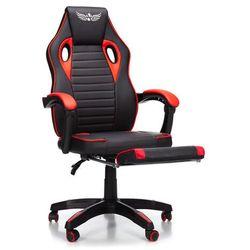 Fotel gamingowy NORDHOLD - ULLR PLUS - czerwony