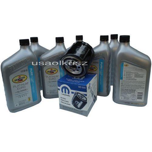 Oleje silnikowe, Filtr 22x1,5mm olej PENNZOIL PLATINUM 5W40 Dodge Magnum SRT-8 6,1 V8 2008