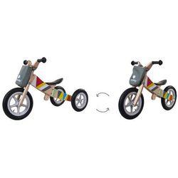 Rowerek biegowy drewniany 2w1 Twist Sun Baby E02.001.1.1