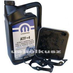 Olej MOPAR ATF+4 oraz filtr automatycznej skrzyni 4SPD Dodge Caravan
