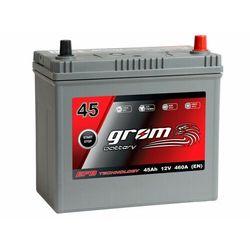 Akumulator GROM EFB START&STOP 45Ah 460A Japan Prawy Plus DTR